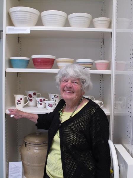 Joan Davis (93 years old) at Te Toi Uku, 16 November 2016